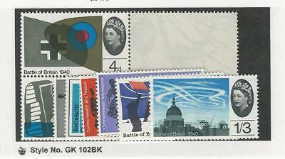 Great Britain, Postage Stamp, #426-437 Mint NH, 1965