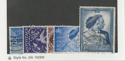 Great Britain, Postage Stamp, #264-268 Used, 1946-48
