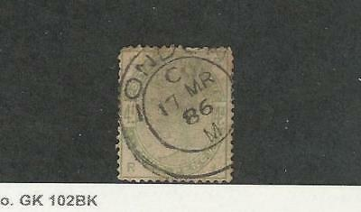 Great Britain, Postage Stamp, #103 Used, 1884