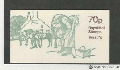 Great Britain, Postage Stamp, #BK326 Booklet Mint NH