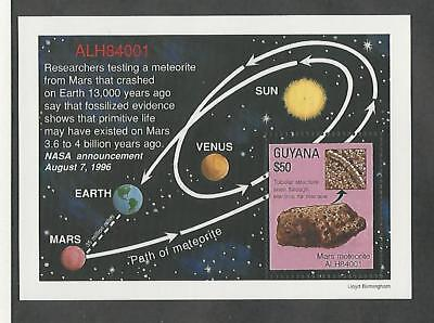 Guyana, Postage Stamp, #Unlisted Space Topical Sheet Mint NH
