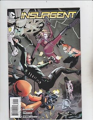 DC Comics! Insurgent! Issue 1!