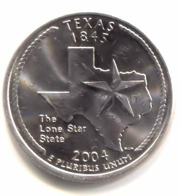 U.S. Texas The Lone Star State Quarter 2004 P Coin -  Philadelphia Mint