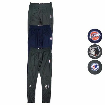 NBA Adidas 2016 Authentic On-Court Team Issued Pro Cut Warm Up Pants Men's