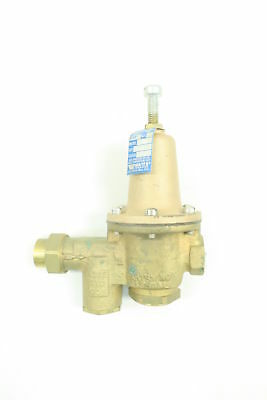 Watts U5B 5M2 Bronze Pressure Reducing Regulator Valve 25-75Psi 1/2In D582899