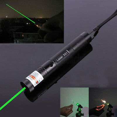 10 miles Military Green 5MW 532NM Laser Pointers Pen Lazer Light Visible Beam
