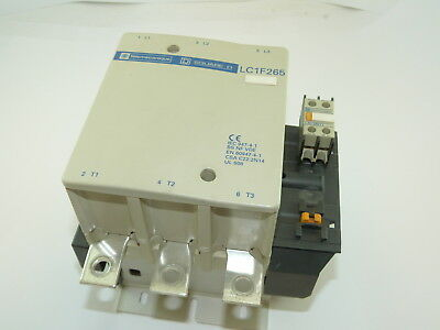 Square D LC1F265 600v 265a Contactor Used