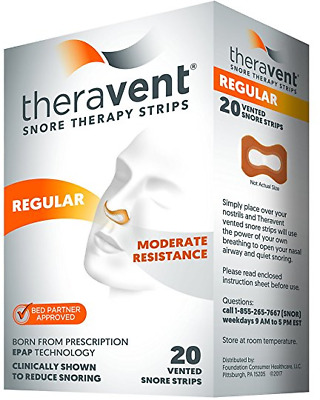 Theravent Snore Therapy Strips (Regular Strength)
