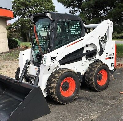 Bobcat S740 Skid Steer Loader Heated Ac Cab A71 Bucket