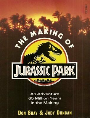 The Making of Jurassic Park by Duncan, Jody Paperback Book The Fast Free