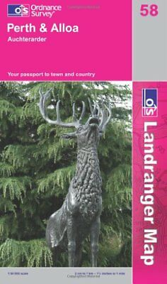 Perth to Alloa (OS Landranger Map Series) by Ordnance Survey 0319229971 The Fast