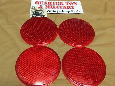 Jeep Willys MB GPW DODGE WWII style reflector lens heavy pebble pattern G503
