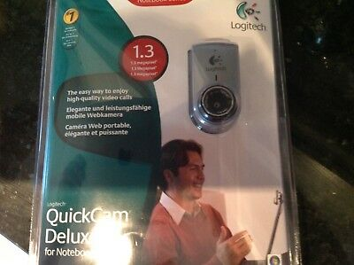 Logitech QuickCam Deluxe for notebooks brand new