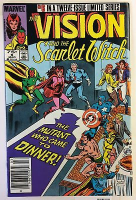 Vision and the Scarlet Witch #6 NM- DOCTOR STRANGE AVENGERS Marvel Comics