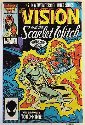 Vision and the Scarlet Witch #7 NM- CAPT AMERICA TOAD KING AVENGERS Marvel Comic