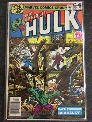 Incredible Hulk #234 First Appearance Of Quasar (1979) Marvel First Print