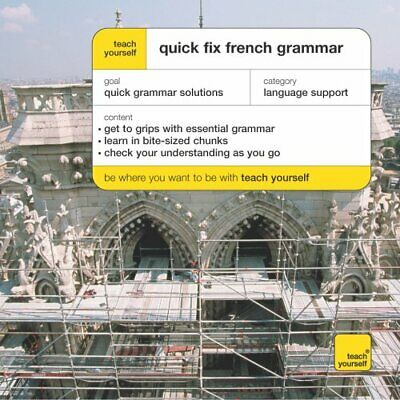 Quick Fix French Grammar (Teach Yourself Langua... by Haviland, Elaine Paperback