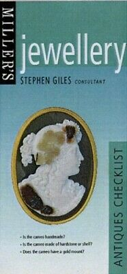 Jewellery (Miller's Antiques Checklist) by Giles, Stephen Hardback Book The Fast
