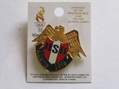 New  usa olympic atlanta 1996  Lapel Pin