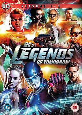 DC LEGENDS OF TOMORROW Stagioni 1-2 Serie Complete BOX DVD in Inglese NEW .cp