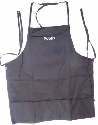 Publix Apron Black With Pockets NEW Unisex Two Different Styles. Limited Supply!