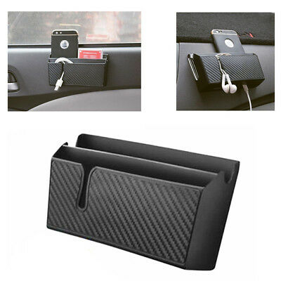 Universal Auto Car Truck Phone Charger Cradle Storage Box Holder Organizer Accs