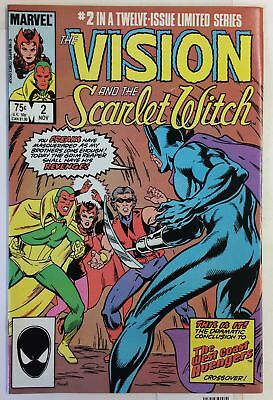 Vision and the Scarlet Witch #2 NM WEST COAST AVENGERS GRIM REAPER Marvel Comics