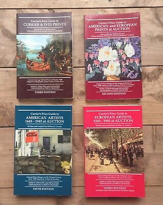4 Curriers & Ives Price Guides Amer Eu Prints - Prints - European - Amer Artists
