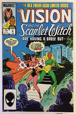 Vision and the Scarlet Witch #4 NM 1sT GLAMOR ILLUSION MUTANT Marvel Comics
