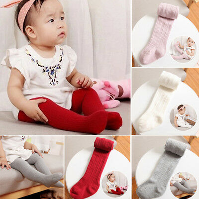 Cute Baby Kids Girls Cotton Warm Tights Socks Stockings Pants Hosiery Pantyhose