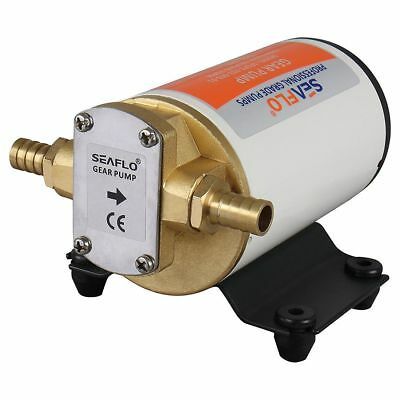 Q4 SEAFLO 24V 3.2GPM 12LPM Low Pressure Electric Gear Pumps for Water Diesel Oil