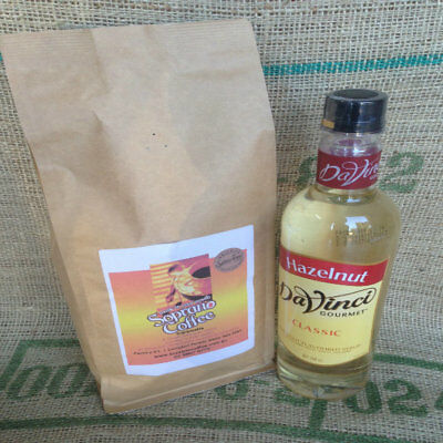 1kg of Soprano Coffee Roasted Coffee beans plus one Da vinci syrup
