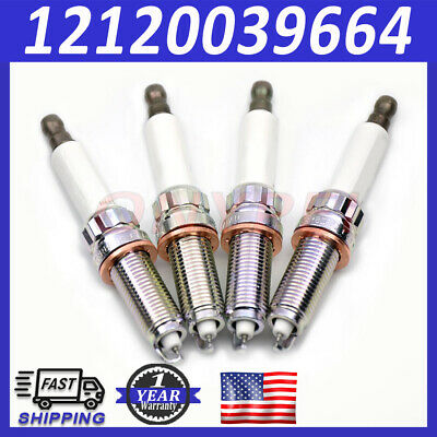 4x New Spark Plug SILZKBR8D8S 12120039664 for BMW 228i 320i 328i 428i 528i X3 X4