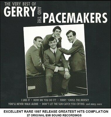 Gerry & The Pacemakers - Very Best Greatest Hits Collection - RARE 1997 60's CD