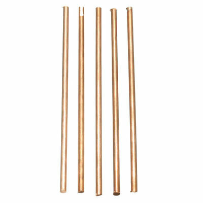 5X Solid Round Copper Rods Bar Cylinder 3mm Diameter Length 100mm Metalworking