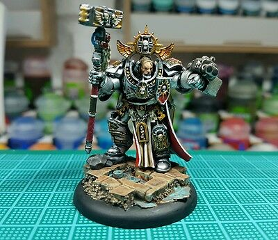 Warhammer 40k Großmeister Voldus pro painted  Triumvirate of the Primarch
