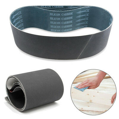 2 Pcs 4''x36'' Silicon Carbide Sanding Belts 100x900mm Sander 600/800/1000 Grit