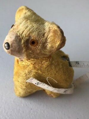 "Vintage TEDDY BEAR Sewing TAPE MEASURE, Retracting, 3""Tall"