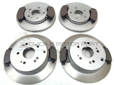PADS SET for HONDA CR-V 2.2 i-CTDi 4WD 2007-/>on MINTEX Front Axle BRAKE DISCS