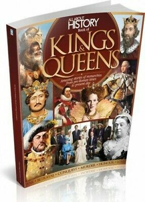 All About History Book of Kings & Queens by Imagine Publishing Book The Fast