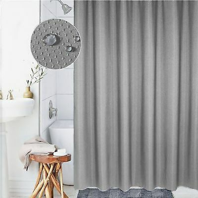 Cryseam Thick Shower Curtain Polyester Fabric 72X80
