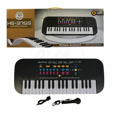 Kids Childrens 37 Key  Electronic Keyboard Piano Musical Toy with Micro phone