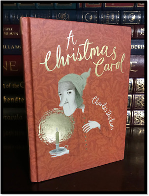 A Christmas Carol by Charles Dickens New Illustrated Collector's Gift Hardcover