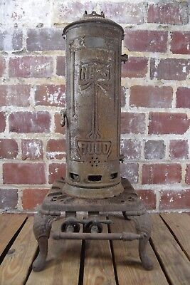 Antique Ruud Cast Iron Water Heater Number 25 with Keystone Base