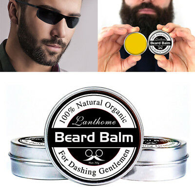 100% Natural Beard Oil And Balm Moustache Wax For Styling Beeswax Moisturizing