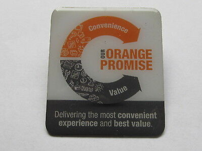 New Home Depot our orange promise Lapel Pin