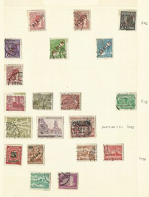 Germany Berlin Collection 1948-1971 on 2 Pages