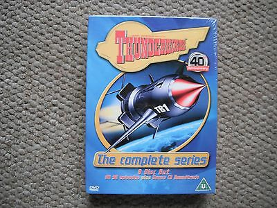 Thunderbirds - The Complete Series - 40Th Anniversary Edition - 8 Disc Set - New