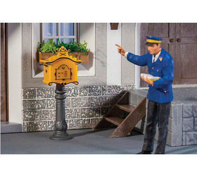 Pola G Scale 1/22.5 Ornate Mail Box With Post Kit | Ships From Usa | 333217