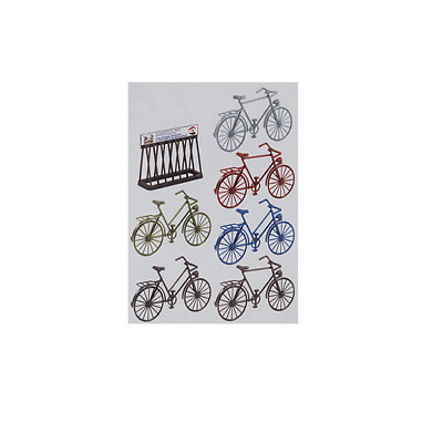 Pola G Scale 1/22.5 Bicycles (6) Kit | Ships From Usa | 331755